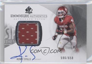2013 SP Authentic #168 - Kenny Stills /650