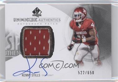 2013 SP Authentic #168 - Rookie Patch Autographs - Kenny Stills /650
