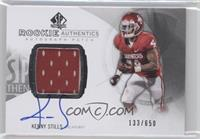Rookie Patch Autographs - Kenny Stills /650