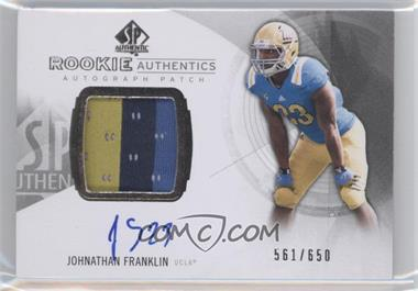 2013 SP Authentic #169 - Johnathan Franklin /650
