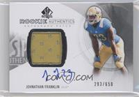 Rookie Patch Autographs - Johnathan Franklin /650