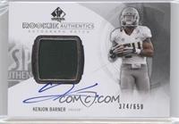 Rookie Patch Autographs - Kenjon Barner /650