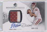 Rookie Patch Autographs - Landry Jones /325