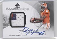 Rookie Patch Autographs - DeAndre Hopkins /650