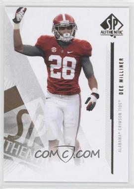 2013 SP Authentic #46 - Dee Milliner