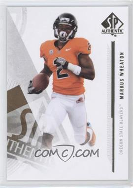 2013 SP Authentic #53 - Markus Wheaton