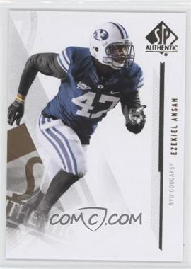 2013 SP Authentic #89 - Ezekiel Ansah