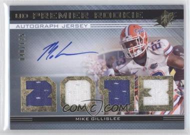 2013 SPx - UD Premier Autograph Jersey #19 - Mike Gillislee /125