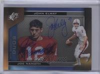 John Elway, Joe Namath