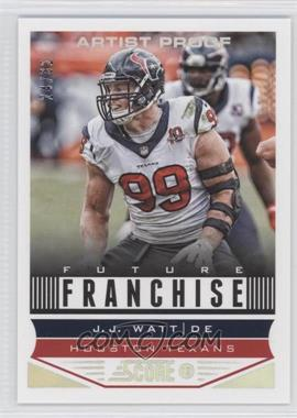 2013 Score Artist Proof #311 - J.J. Watt /32