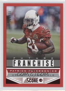 2013 Score Red Zone #299 - Patrick Peterson /30