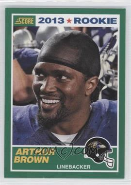 2013 Score #338 - Arthur Brown