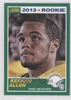 2013 Score #384 - Keenan Allen