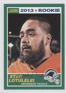 2013 Score #424 - Star Lotulelei
