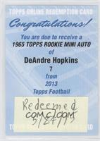 DeAndre Hopkins [REDEMPTION Being Redeemed]