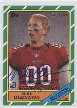 2013 Topps 1986 Topps Rookie Autographs [Autographed] #5 - Mike Glennon /140