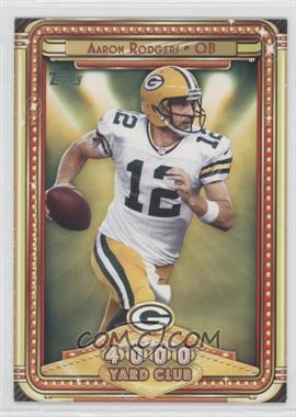 2013 Topps 4000 Yard Club #8 - Aaron Rodgers