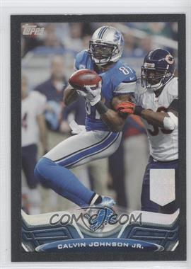 2013 Topps Black Border #250 - Calvin Johnson /58