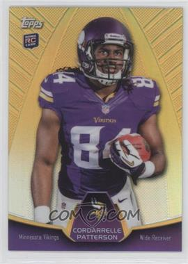 2013 Topps Blaster Box Holiday Mega Rookie Refractors #MBC-CP - Cordarrelle Patterson