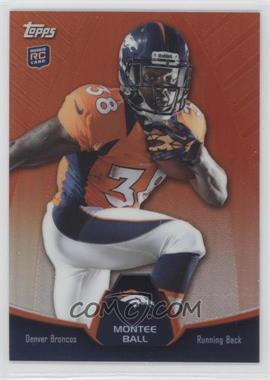 2013 Topps Blaster Box Holiday Mega Rookie Refractors #MBC-MB - Montee Ball