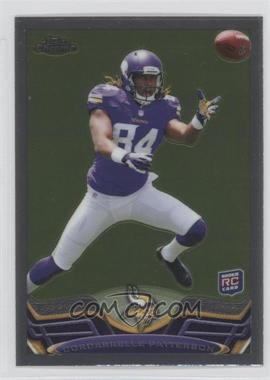 2013 Topps Chrome - [Base] #19.1 - Cordarrelle Patterson (Catching Ball)