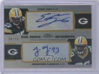 Eddie Lacy, Johnathan Franklin /30