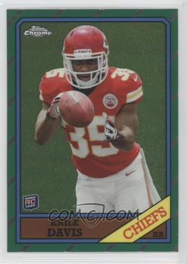 2013 Topps Chrome 1986 Design #35 - Knile Davis