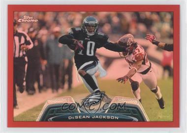 2013 Topps Chrome Red Refractor #143 - DeSean Jackson /25