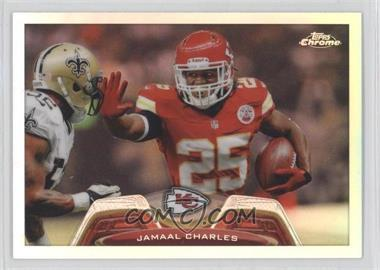 2013 Topps Chrome Refractor #192 - Jamaal Charles