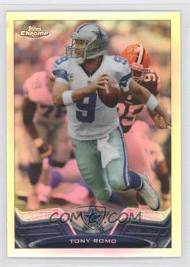 2013 Topps Chrome Refractor #196 - Tony Romo