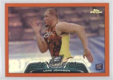 2013 Topps Chrome Retail [Base] Orange Refractor #88 - Lane Johnson