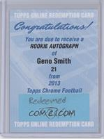 Geno Smith /447 [REDEMPTION Being Redeemed]