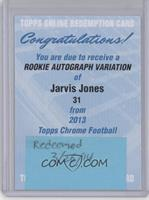 Jarvis Jones [REDEMPTION Being Redeemed]