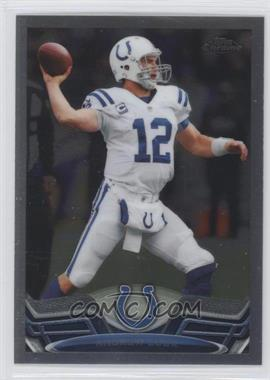 2013 Topps Chrome #75.1 - Andrew Luck (Ball)