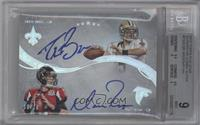 Drew Brees, Matt Ryan /10 [BGS 9]