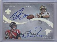 Drew Brees, Matt Ryan /10