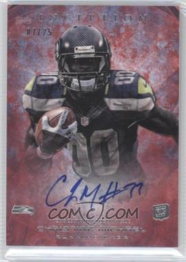 2013 Topps Inception Red #139 - Christine Michael /25