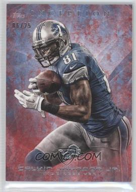 2013 Topps Inception Red #20 - Calvin Johnson /25