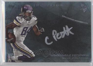 2013 Topps Inception Silver Signings #ISS-CP - Cordarrelle Patterson /50