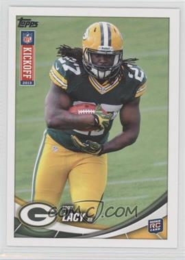 2013 Topps Kickoff - [Base] #5 - Eddie Lacy