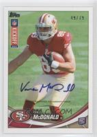 Vance McDonald /79