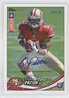 Quinton Patton /79