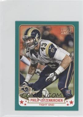 2013 Topps Magic Mini Green #164 - Philip Lutzenkirchen