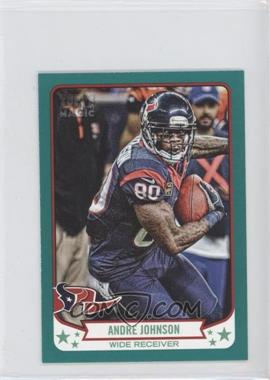 2013 Topps Magic Mini Green #315 - Andre Johnson