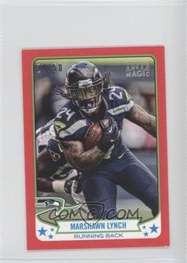 2013 Topps Magic Mini Red #190 - Marshawn Lynch /50