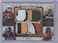 Stepfan Taylor, Jonathan Franklin, Le'Veon Bell, Montee Ball /25