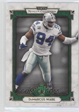 2013 Topps Museum Collection Emerald #21 - DeMarcus Ware /1