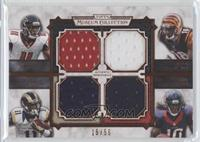 Julio Jones, A.J. Green, Tavon Austin, DeAndre Hopkins /50