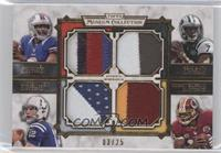 E.J. Manuel, Geno Smith, Andrew Luck, Robert Griffin III /25