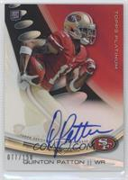Quinton Patton /150